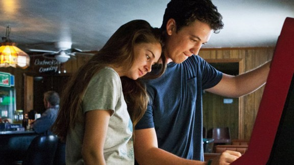 """""""The Spectacular Now"""" (2013): Miles Teller, who made CNN's Fresh Faces list, stars as Sutter Keely, a sweet guy who falls in love with Shailene Woodley's """"good girl"""" Aimee Finecky in this film adaptation of Tim Tharp's novel."""