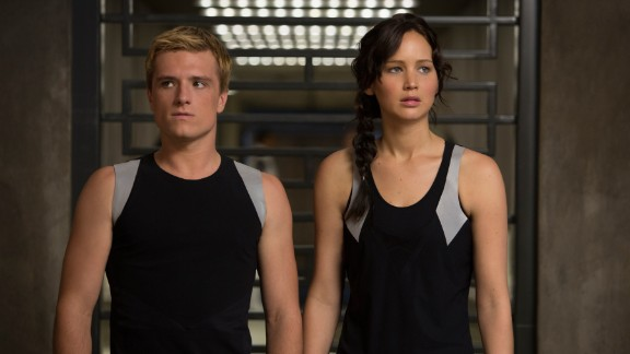 """""""The Hunger Games: Catching Fire"""" (2013): Jennifer Lawrence's Katniss Everdeen must return to the Hunger Games arena that nearly took her life for the sadistic Quarter Quell. Here, past Hunger Games winners have to compete and fight to the death again. Katniss is paired with Josh Hutcherson's Peeta Mellark, both a lifesaver -- and at times a liability -- to the courageous Katniss."""