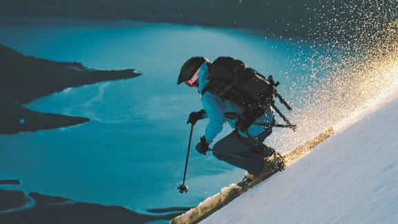 Skiing in the midnight sun in the Lyngen Alps nearly 300km above the Arctic Circle is a breathtaking experience. A 'hidden gem' is how former international freestyle skier Kelly Holland describes it.