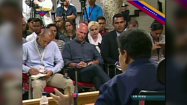 Maduro: Media portrays us as in civil war