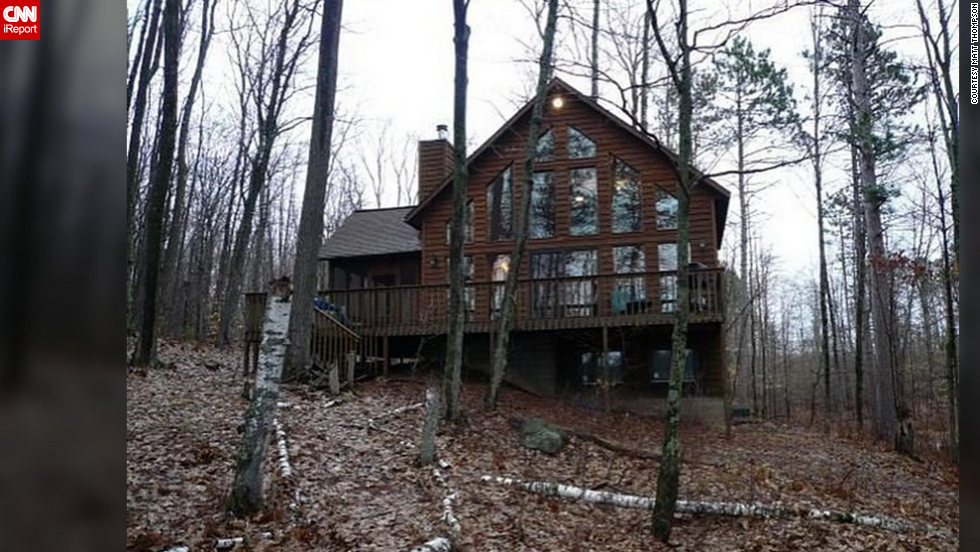 "<a href=""http://ireport.cnn.com/docs/DOC-1078168"">Thompson's vacation home </a>is located in Hayward, Wisconsin. He's selling the house for 100 million Dogecoins, or about $135,000."