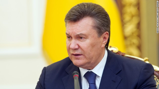 Ousted Ukraine president on the run