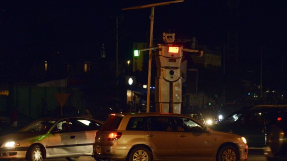 They are installed on Kinshasa