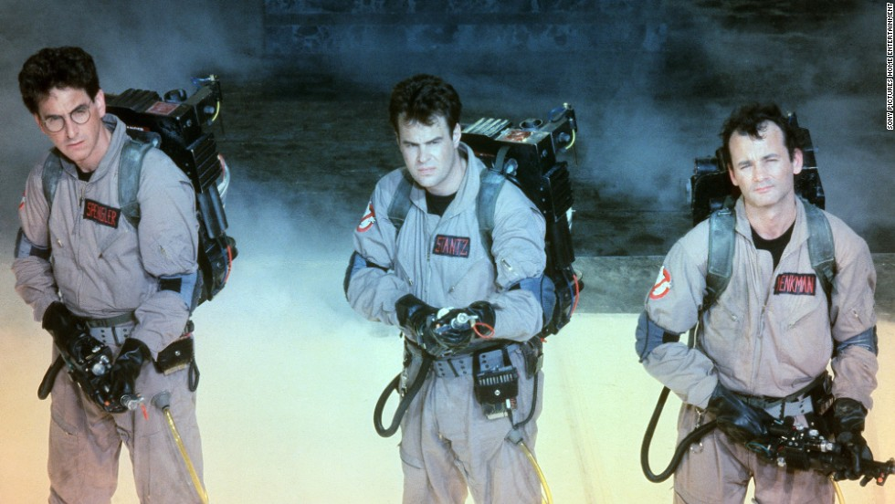 "The ""Ghostbusters"" get a new start in an upcoming movie featuring <a href=""http://www.cnn.com/2015/01/27/entertainment/feat-female-ghostbuster-cast-thr/"">a group of women who ain't afraid of no ghost</a> (and <a href=""http://www.cnn.com/2015/03/09/entertainment/ghostbusters-universe-feat/"">more ""Ghostbusters"" spinoffs are being planned</a>)."