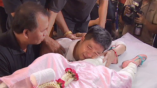 Bangkok attack victims laid to rest