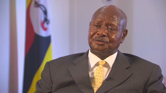 Ugandan President: Being gay not a right