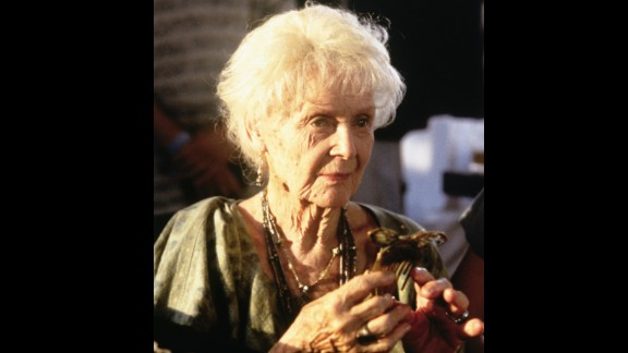 At 87, Gloria Stuart was nominated for best supporting actress for her performance in 1997