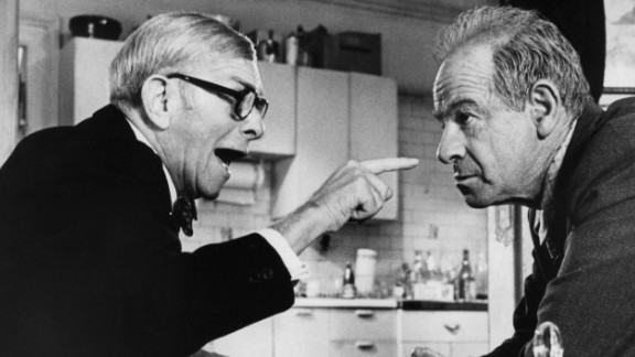 George Burns, left, had been in show business for decades, but hadn