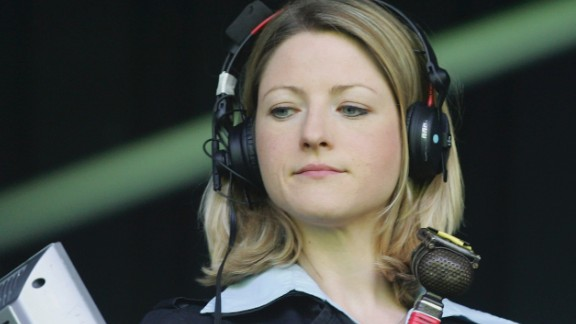 Jacqui Oatley became the first female broadcaster to commentate on Match of the Day -- the BBC