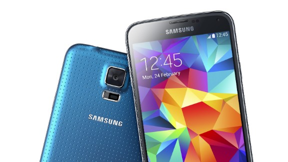 The Galaxy S5 is the latest in Samsung