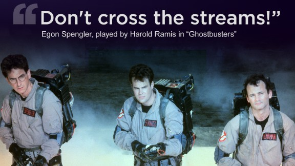 """Harold Ramis was a familiar presence in comedies for more than three decades. From left, he, Dan Aykroyd and Bill Murray star in the 1984 film """"Ghostbusters."""" Ramis played Dr. Egon Spengler and co-wrote the film with Aykroyd."""