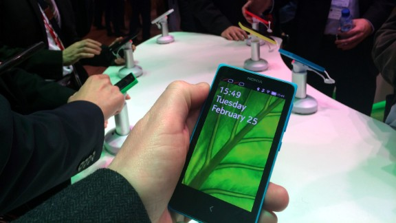 1. The new Android-powered Nokia X range.