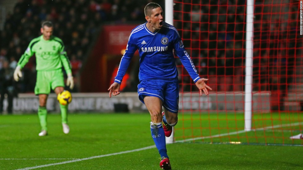 The Chelsea manager's comment to Canal Plus also suggested that he is unsure of the abilities of his other two senior strikers -- Fernando Torres (pictured) and Demba Ba.