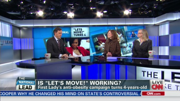 exp Lead debate Michelle Obama Let's Move working _00002001.jpg