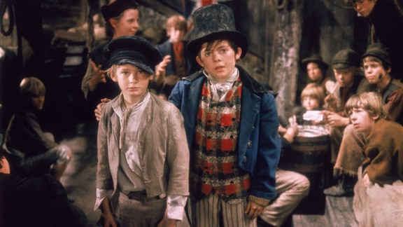 """Jack Wild, right (with Mark Lester), played the Artful Dodger in the 1968 best picture winner, """"Oliver!"""" He was 16 when he earned a best supporting actor nomination."""