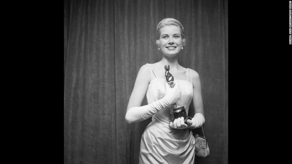 "The following year, it was Grace Kelly everyone wanted to dress like. The beautifully draped gown she wore to the 1955 ceremony, where she accepted the best actress Oscar for ""The Country Girl,"" is the type of timeless formalwear that would be replicated today."