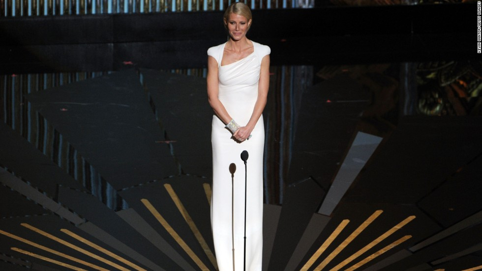 "Gwyneth Paltrow has hit some noticeable bumps on the Oscars red carpet, but in 2012 the ""Goop"" founder got it right. Her structured white Tom Ford dress came with a cape, making it classic enough to fit in to the show but daring enough to stand apart as one of the best sartorial moves that night."
