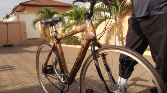 Bamboo Bikes Turn Around Fortunes For Working Women In Ghana Cnn