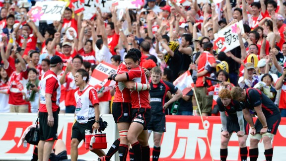Japan has endured mixed results on the international stage but celebrated victory over Wales last year, the team