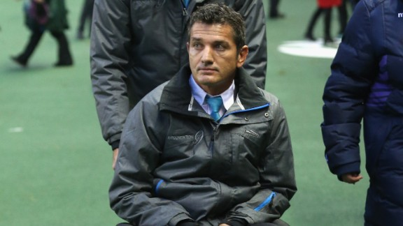 Joost van der Westhuizen is a legend of South African rugby who has been battling motor neurone disease since being diagnosed in 2011. He is now confined to a wheelchair but continues to travel the world promoting the J9 foundation, which raises money and awareness of his incurable disease.