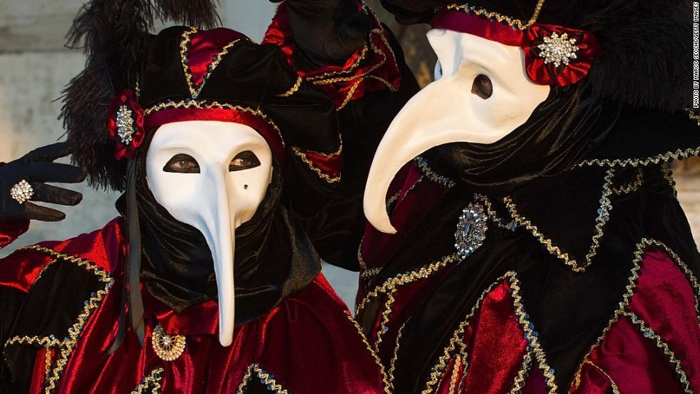 carnival of venice mysterious masks make the celebration cnn travel