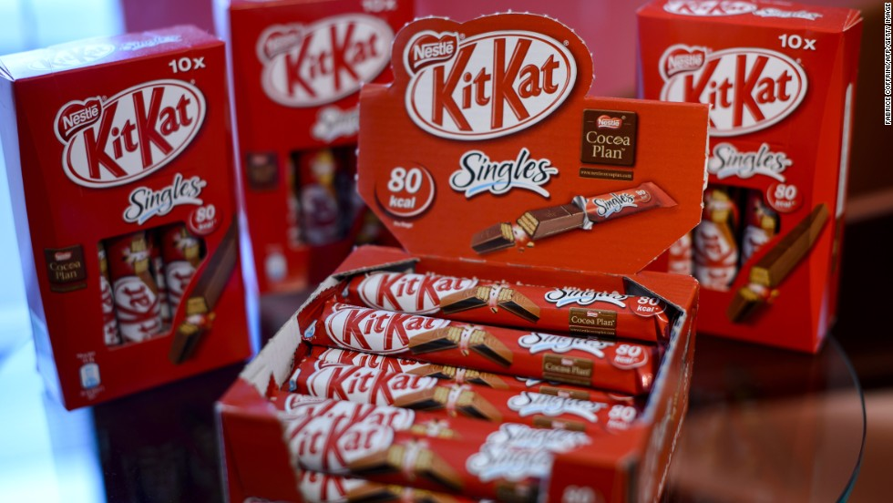 "Nestle, the maker of KitKat, Nescafe and Maggi, is at the top of the rankings. Oxfam says: ""Nestle leads the way on climate change and water usage, worker rights and is the most transparent."""