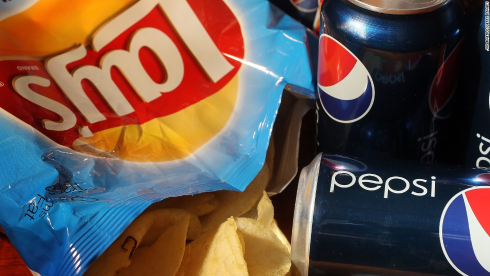 """PepsiCo fizzes in the top half of the scorecard, particularly for its climate policies, but still falls flat on helping farmers, the treatment of women and transparency,"" Oxfam says about the maker of Doritos, Pepsi and Tropicana."