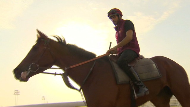 Is this Qatar's first superstar jockey?
