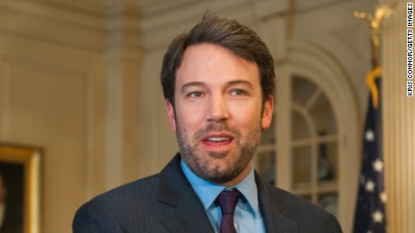 Ben Affleck pays a visit to the State Department on February 26 to testify before the Senate Foreign Relations Committee about the Eastern Congo.