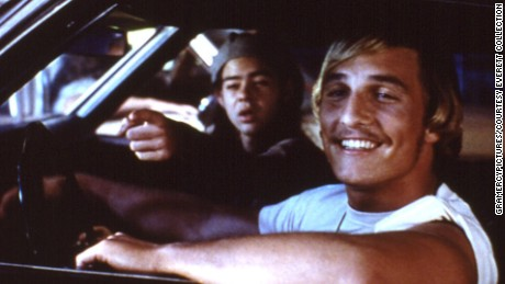"Rory Cochrane and Matthew McConaughey co-starred in 1993's ""Dazed and Confused."""