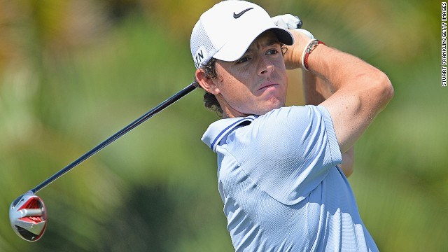 Rory McIlroy is one of seven world top-10 players competing at the Honda Classic in Florida.