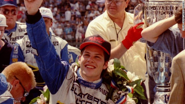 Jacques Villeneuve claimed the 1995 Indy 500 after recovering from a mid-race penalty at the Brickyard.