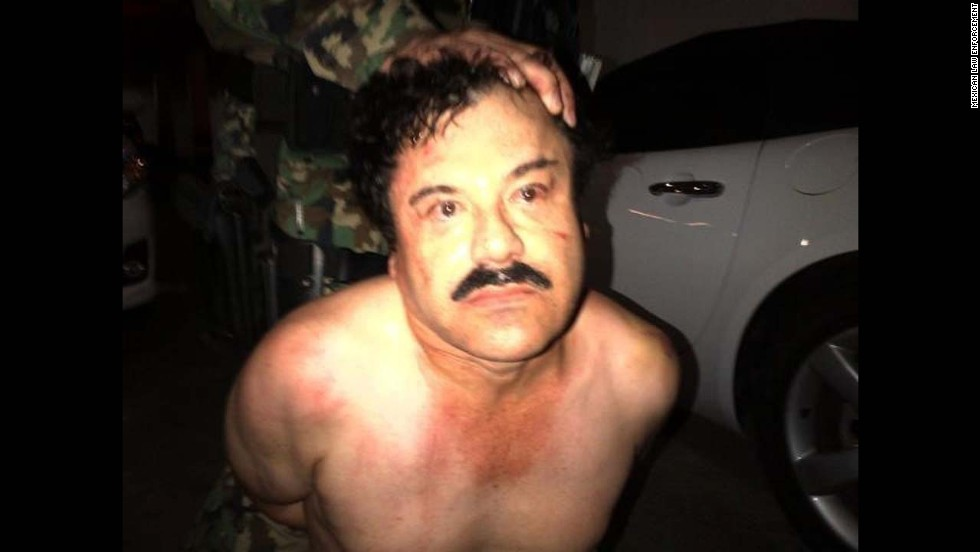 "Joaquin ""El Chapo"" Guzman, head of the Sinaloa drug cartel, was captured Saturday, February 22, at a beach resort in Mazatlan, Mexico. Guzman, considered one of the most powerful drug traffickers in the world, had eluded capture for more than a dozen years before <a href=""http://www.cnn.com/2014/02/22/world/americas/mexico-cartel-chief-arrest/index.html"">he was caught</a> in a joint Mexican and U.S. operation, authorities said."