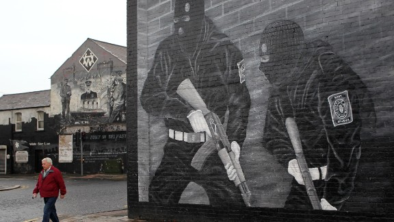 Sectarian tensions are high in Northern Ireland.