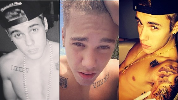 <strong>17. Developed a selfie obsession: </strong>Biebs broke out with YouTube videos of his performances, so his predilection for taking his own photos (constantly) is a natural evolution.