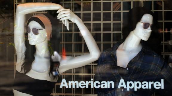 Popular logos such as American Apparel
