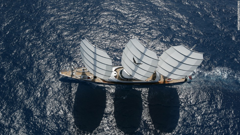 The 88.1-meter Maltese Falcon has one of the most advanced sailing systems in the world but the vessel designed by Ken Freivokh and launched in 2006 is in overshadowed by some of the larger yachts built since.