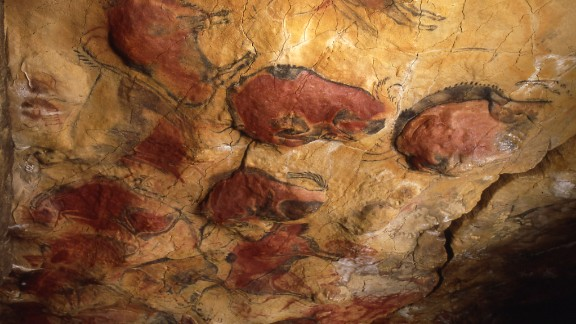 The exquisite 20,000-year-old drawings of bison inside the caves of Altamira, close to Spain's north coast, were closed to the public in 2002 due to fears that the constant trudge of tourists was taking its toll. Last year, access to the caves was partially reopened.