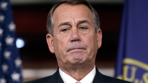 """House Speaker John Boehner said in December 2013 that conservative groups aligned with the tea party have """"lost all credibility."""""""