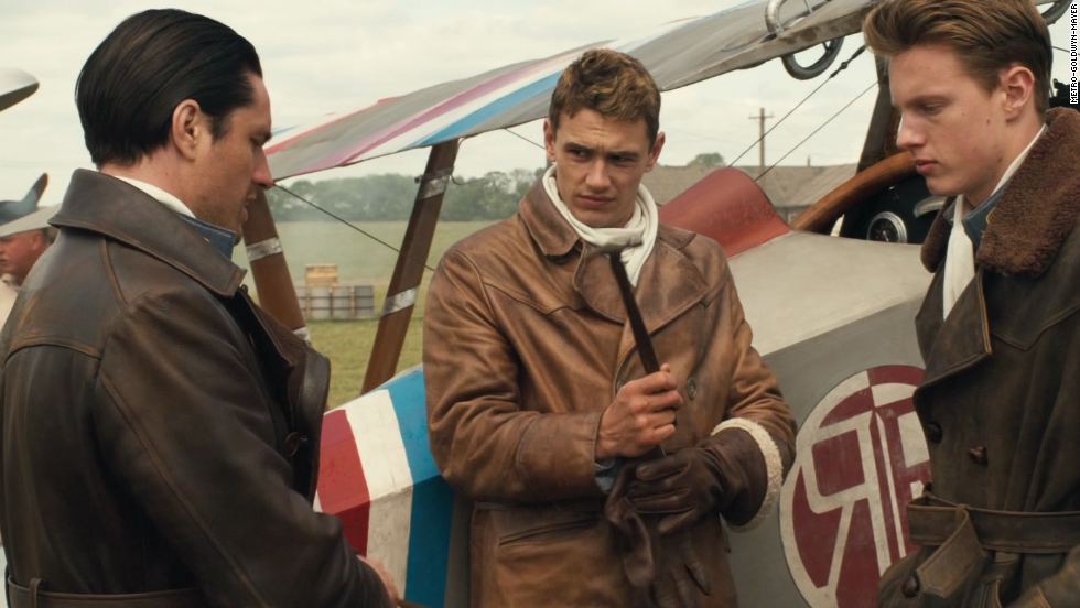 "World War I is the setting for the 2006 drama ""Flyboys."" It stars Keith McErlean, James Franco and David Ellison."