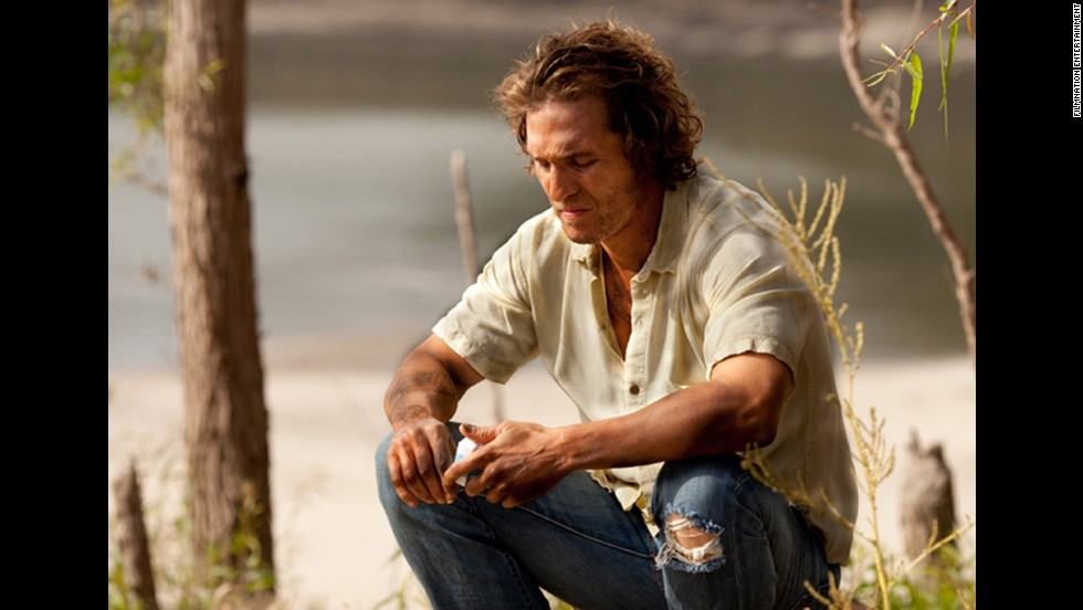"Matthew McConaughey plays the title character in the 2012 drama ""Mud"" which received wide release in 2013."