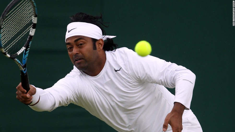 Leander Paes, perhaps India's most accomplished player of all time, wasn't on Friday's official player list.