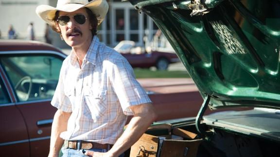 "Best actor: Matthew McConaughey, ""Dallas Buyers Club"""