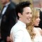 01 oscars red carpet - Johnny Weir and Tara Lipinski