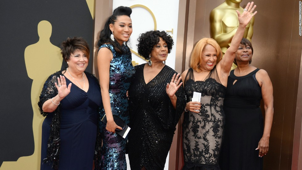 From left, Tata Vega, Judith Hill, Merry Clayton, Darlene Love and Claudia Lennear