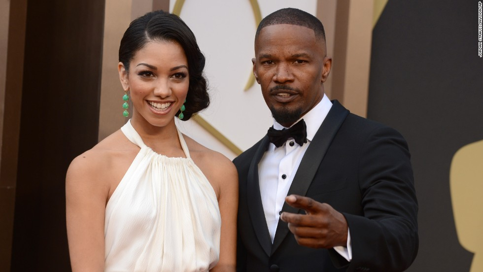 Jamie Foxx and his daughter, Corinne Bishop