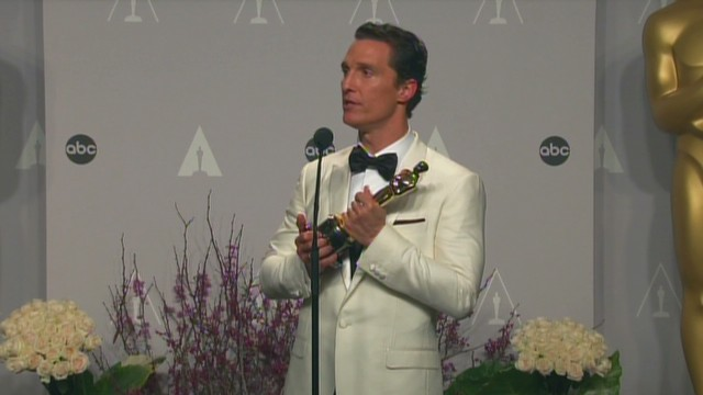 McConaughey: I did not expect it
