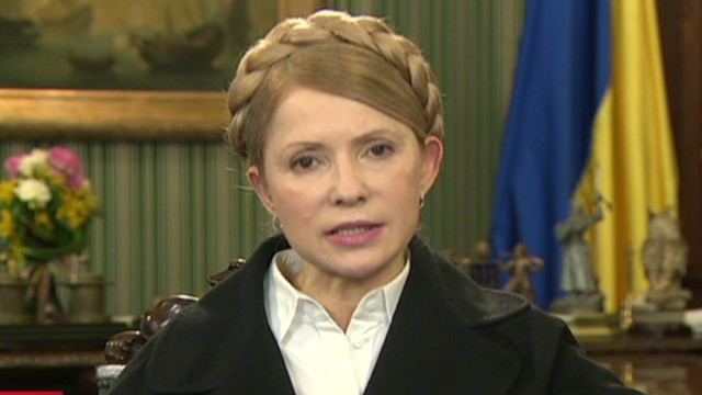 Tymoshenko pleads for help to save Crimea