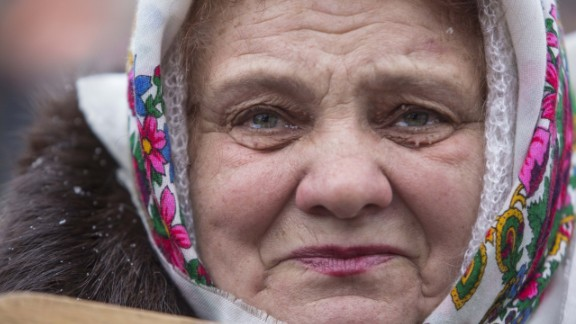 """""""People in Ukraine are very concerned, scared -- war has not been a part of reality of the lives of our generation,"""" <a href=""""http://ireport.cnn.com/docs/DOC-1098963"""">Mikhaluk </a>said."""