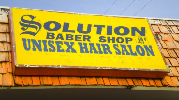 Come right in ... to the neighborhood BABER SHOP!